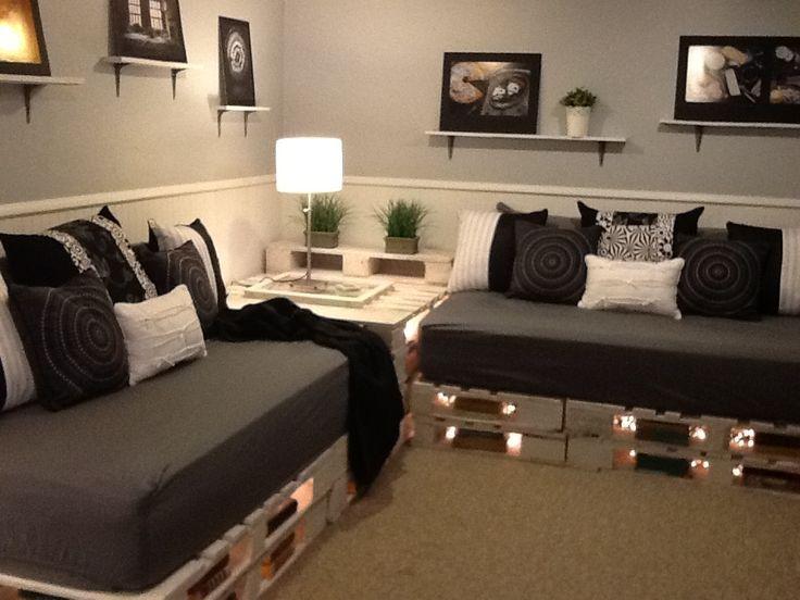 spesso Divano con i pallet: Costruire un divano con i bancali 20 idee  YK25