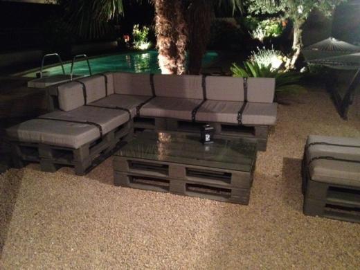 Realizzare Mobili Con Pallet : Divano con i pallet costruire un divano con i bancali idee