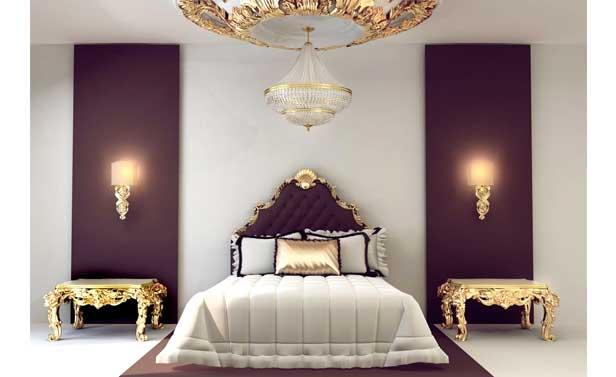 camera da letto molto