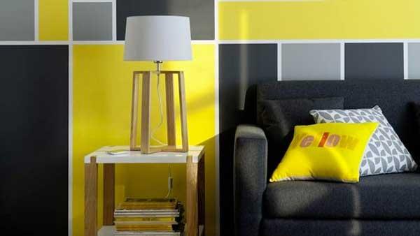 come abbinare il giallo dentro casa