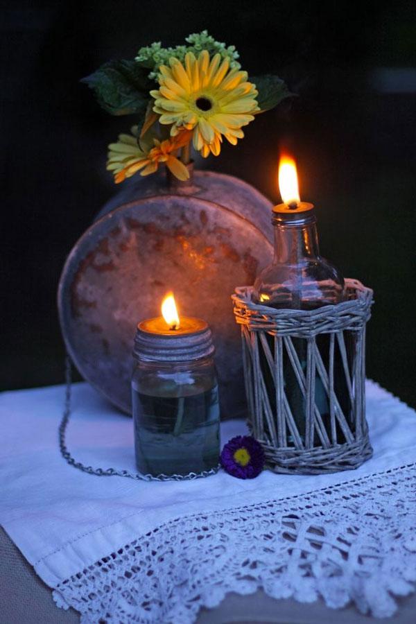 candela citronella antizanzare