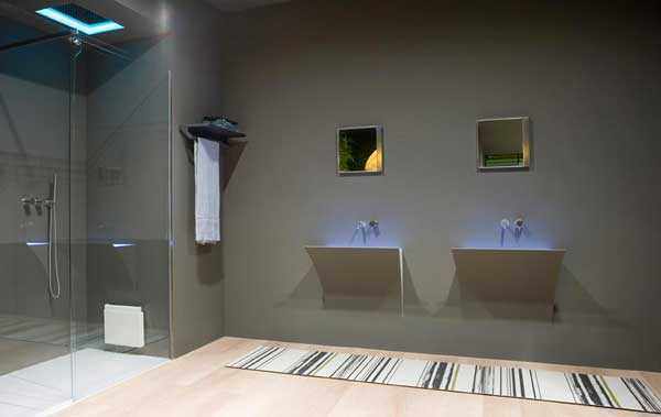 led bathroom furniture
