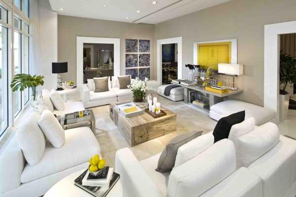 Delicious Idee Arredo Camera Letto #4: Arredo-salone-legno-e-bianco.jpg