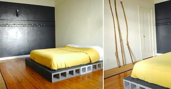 King Size Pallet Bed With Storage Plans