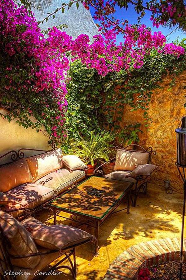 bellissimo salotto giardino