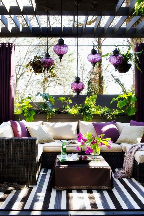 bellissimo salotto da giardino