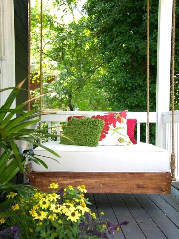Dondolo da giardino 20 idee per un dondolo design - Dondolo da giardino reclinabile ...