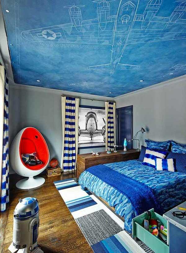 Decorazione soffitto camera da bambino 27 idee - Idea camera da letto ...