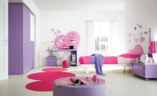 Cameretta Lilla E Viola : Idee cameretta bimba arredare una bella cameretta rosa