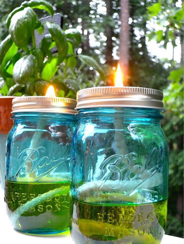 candela alla citronella fai da te