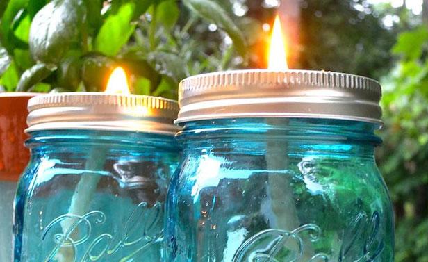Favorito Candela citronella fai da te: Fare una candela antizanzare MF94
