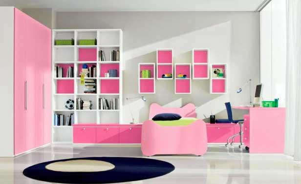 Idee cameretta bimba arredare una bella cameretta rosa - Camerette bimba ikea ...