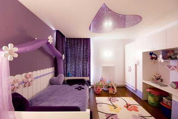 Molto Decorazione soffitto camera da bambino. 27 idee! DT55