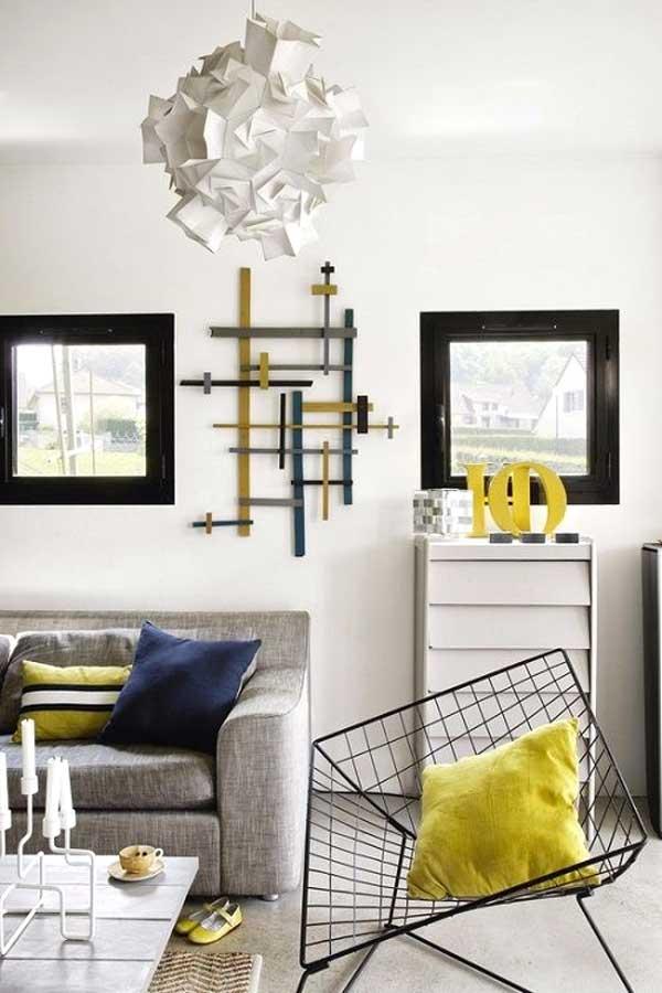 Arredare con il giallo un colpo di sole dentro casa - Arredare casa bianco e beige ...