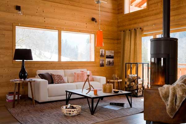 idee salone in legno