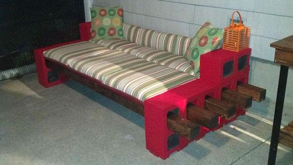 Panchina fai da te creare semplicemente la tua panchina - Divano in legno fai da te ...