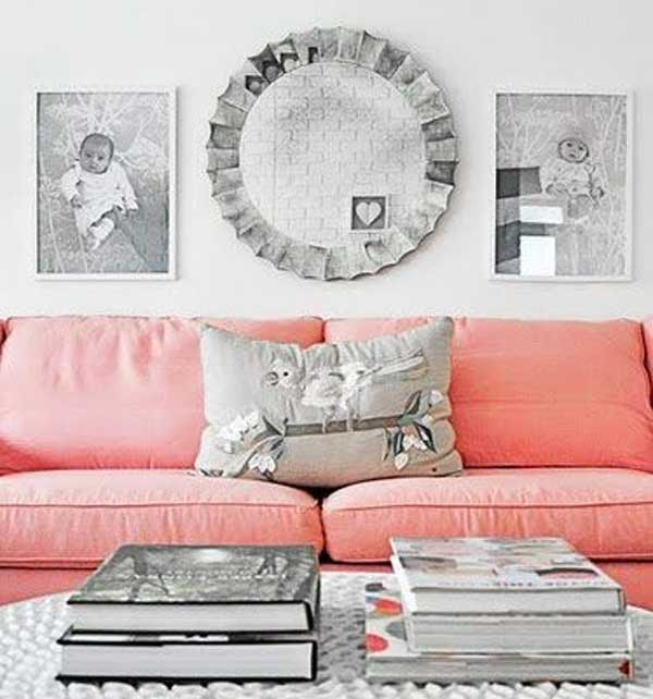Un divano rosa per dare un tocco di vita nel salone - Magico tocco divano ...