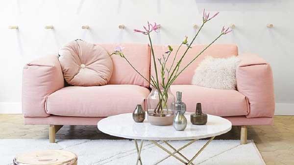 un divano-rosa