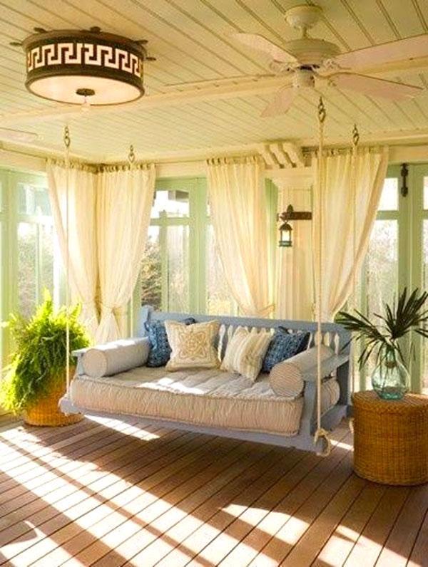Dondolo da giardino 20 idee per un dondolo design - Idea design casa ...
