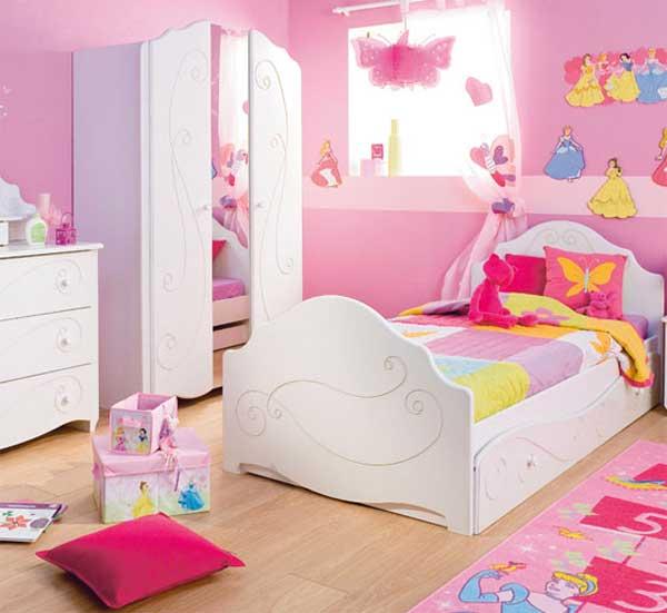 idee cameretta bimba arredare una bella cameretta rosa. Black Bedroom Furniture Sets. Home Design Ideas