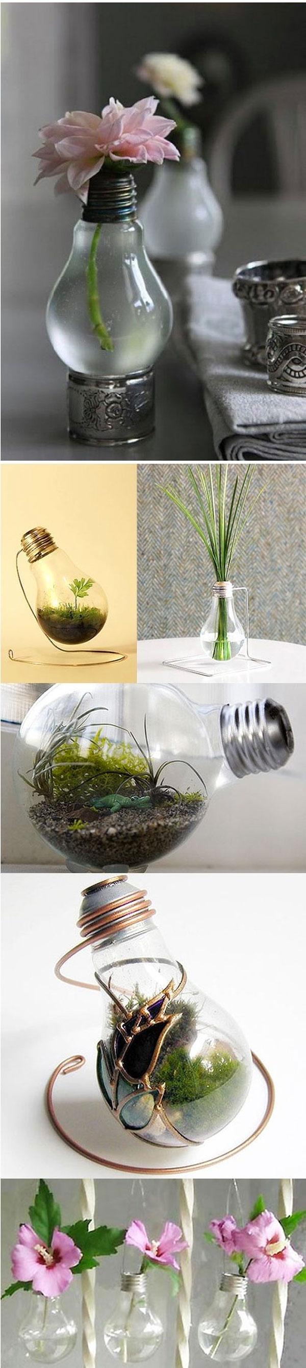 idee creative lampadine