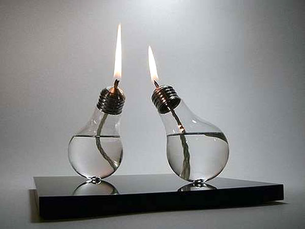 riciclo lampadine: 10 idee design con le vecchie lampadine! video ... - Lampade Riciclo Creativo