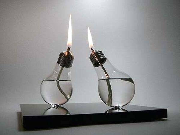 lampadine candele