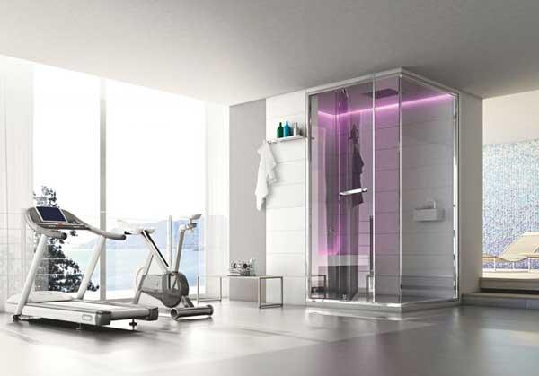 Arredo bagno led illuminare il bagno con i led - Doccia con led ...