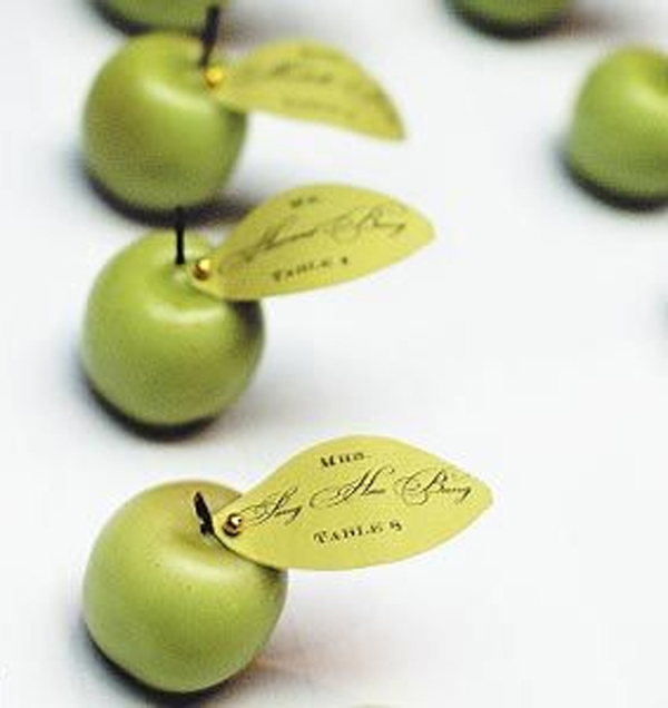 mela segnaposti
