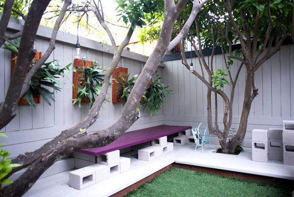 Decorare con blocchi di cemento 17 idee creative per la casa for Idea design casa