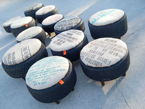 Favorito Riciclare pneumatici: 28 idee per un riciclo creativo TO71