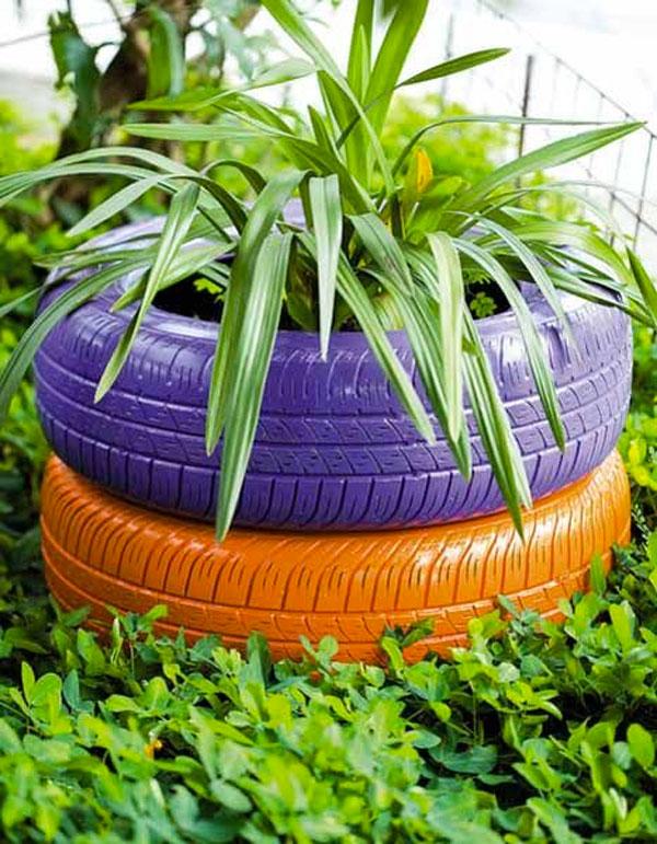 Amato Riciclare pneumatici: 28 idee per un riciclo creativo HP91