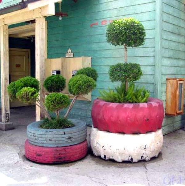 Favorito Riciclare pneumatici: 28 idee per un riciclo creativo TA98