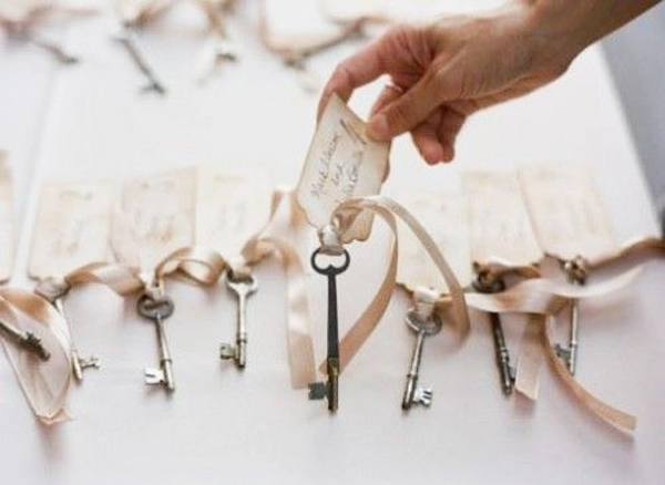 segnaposti chiavi