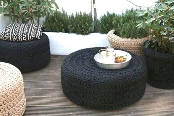 Preferenza Riciclare pneumatici: 28 idee per un riciclo creativo DX51