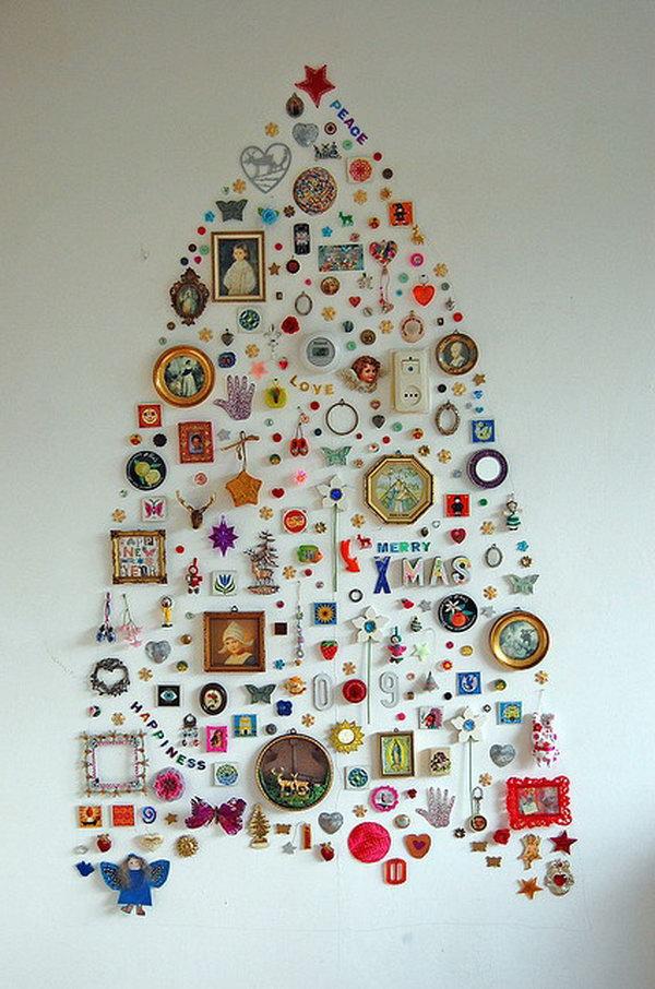 Favorito albero di natale originale: 25 idee creative da scoprire! QY53
