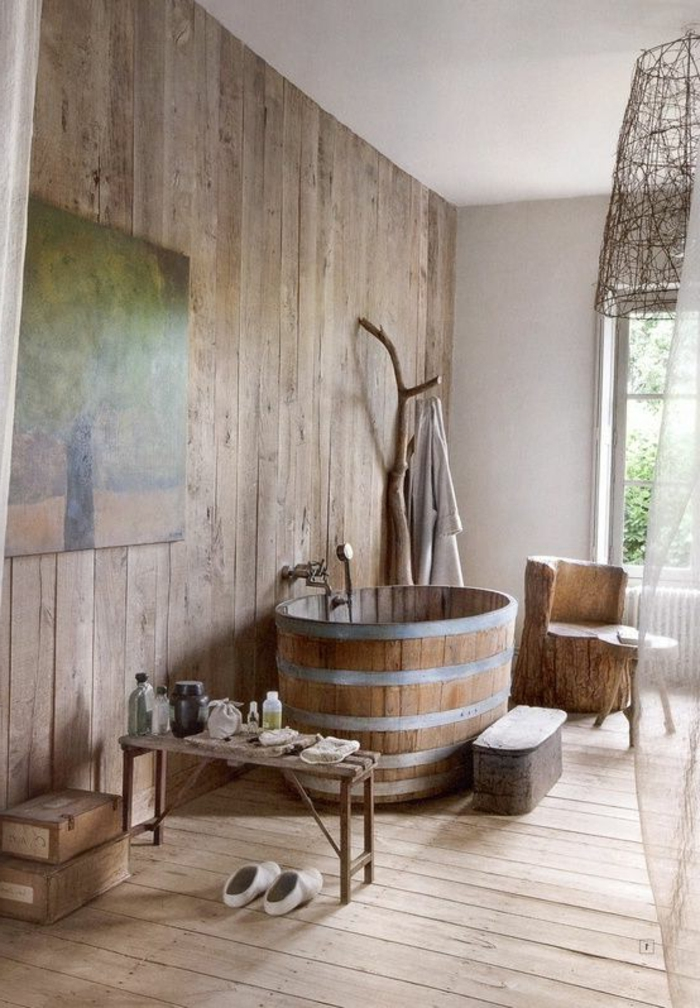 bagno stile rustico: 20 idee per un bellissimo bagno rustico
