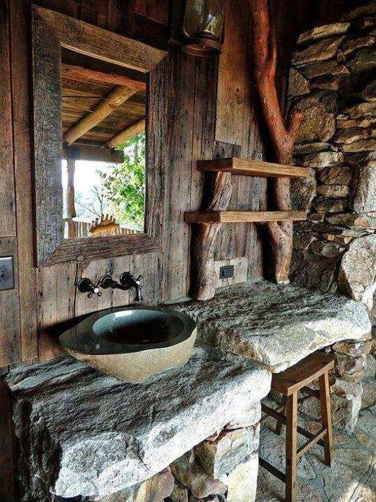 20 Ideen Für Ein Rustikales Bad... Schön!