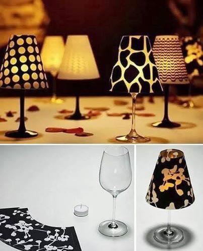 bicchieri di vetro creativo 22