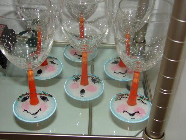 bicchieri di vetro creativo 9