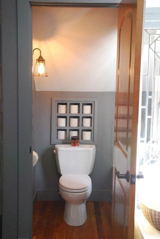 Sistemare la carta igienica nel vostro bagno 8 idee - Idea design casa ...