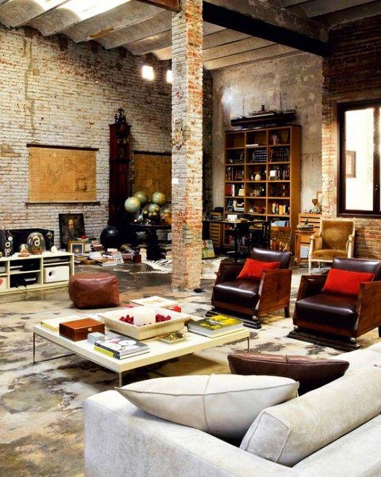Soggiorno stile vintage 17 idee da cui trarre ispirazione - Arredamento casa vintage ...