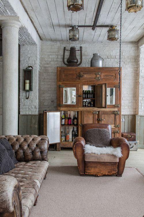 Soggiorno stile vintage 17 idee da cui trarre ispirazione - Idea design casa ...