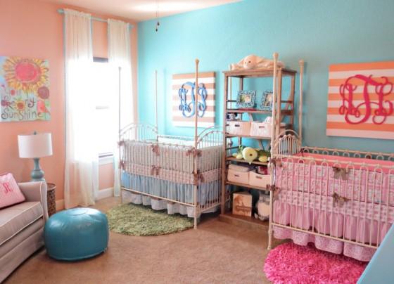 Cameretta gemelli 10 idee per decorare la camera dei gemelli - Scorpione e gemelli a letto ...