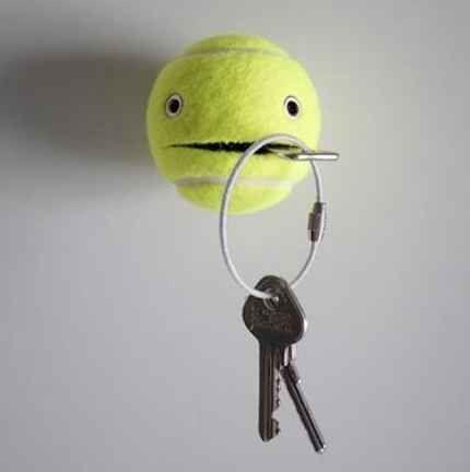 palla da tennis riciclo
