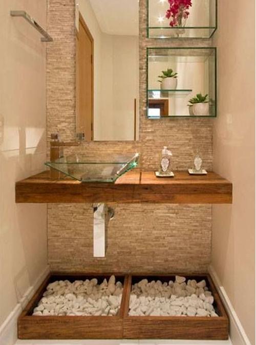 Mobile in legno massello per il bagno ecco 10 modelli da - Mobile bagno legno grezzo ...