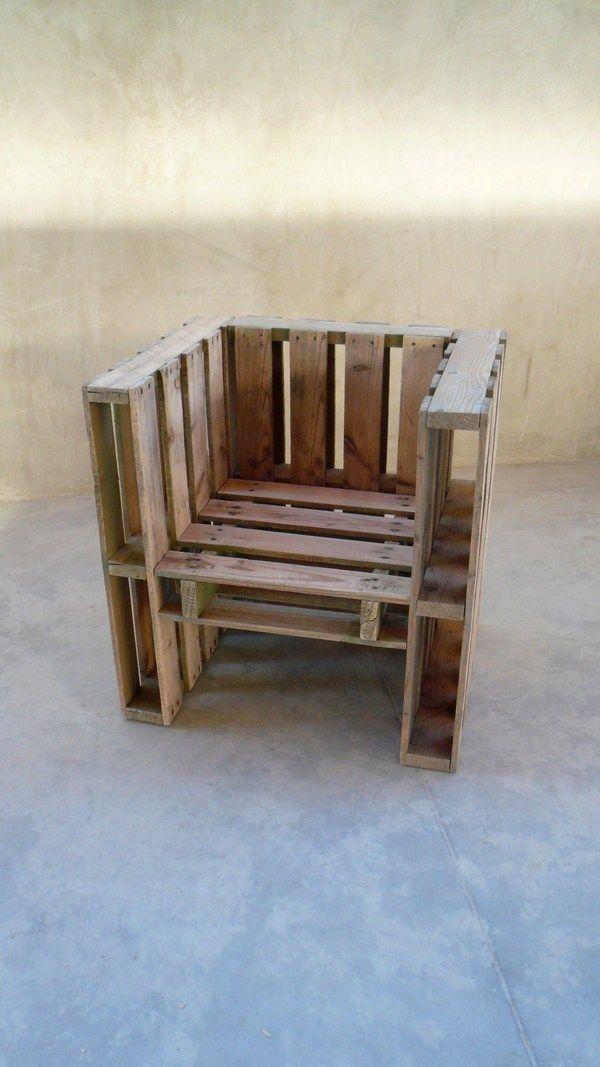 Voici 18 id es g niales pour fabriquer un fauteuil avec des palettes en bois Comment fabriquer fauteuil palette idees