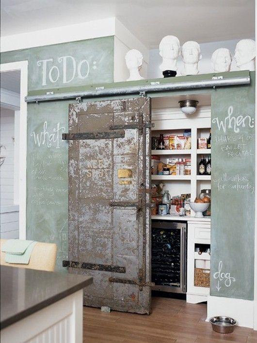 Riciclare vecchie porte