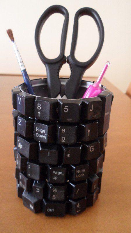 riciclare tastiera computer 3