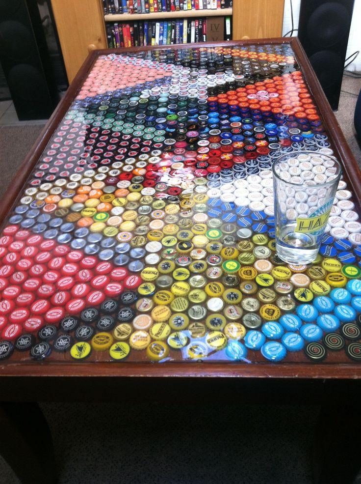 riciclare tappi di birra